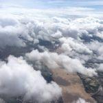 弟が送ってくれました。 メコン川上空